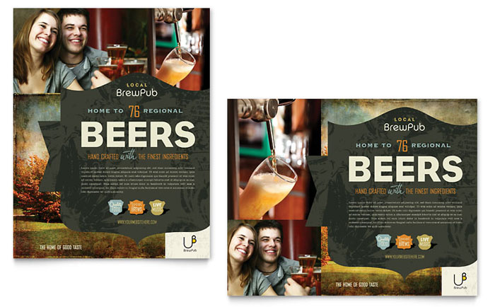 Brewery Poster Design