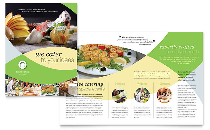 Food Catering - Brochure Design