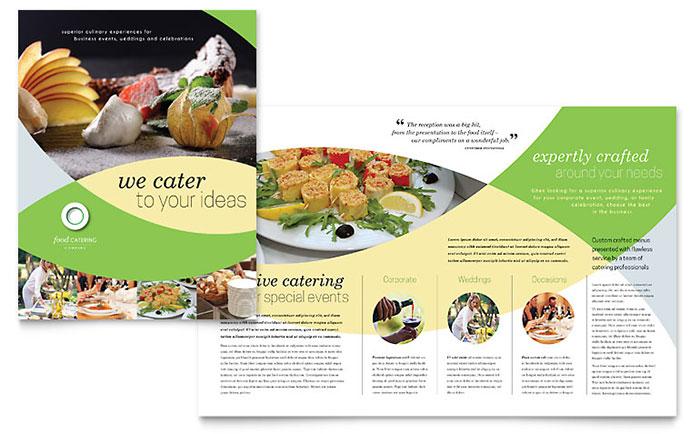 Food Catering - Brochure Design