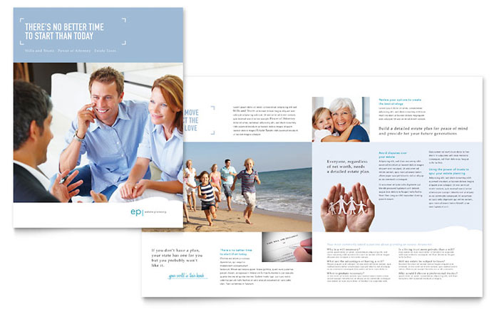 Estate Planning Brochure Design
