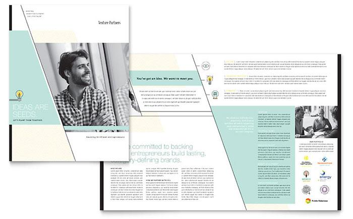 Venture Capital Firm - Brochure Design Example