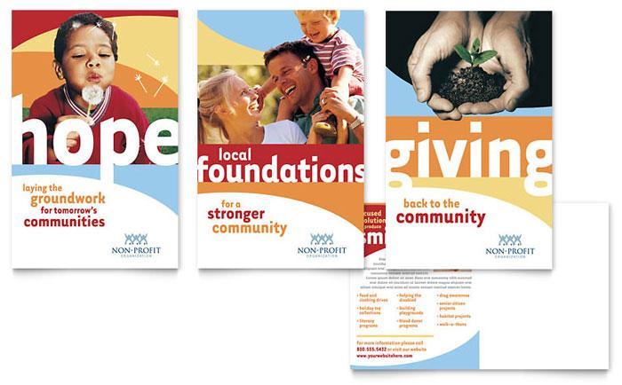 Postcard Example - Community Non Profit