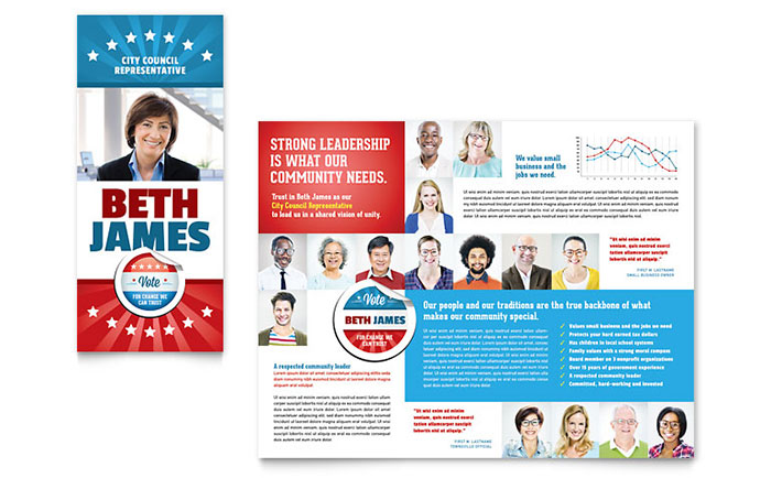 Political Candidate Campaign Advertising Ideas | StockLayouts Blog