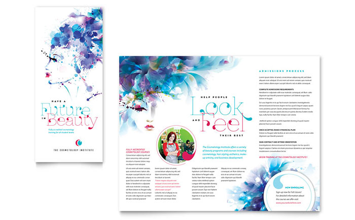 Brochure Sample - Cosmetology