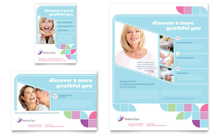 Advertisements & Flyer Sample - Medical Spa