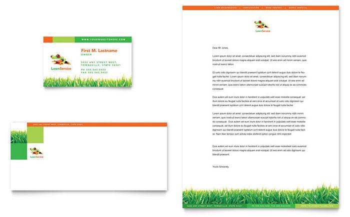 Agriculture Farming Letterhead Templates Design Examples