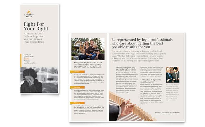 Tri Fold Travel Brochure Examples