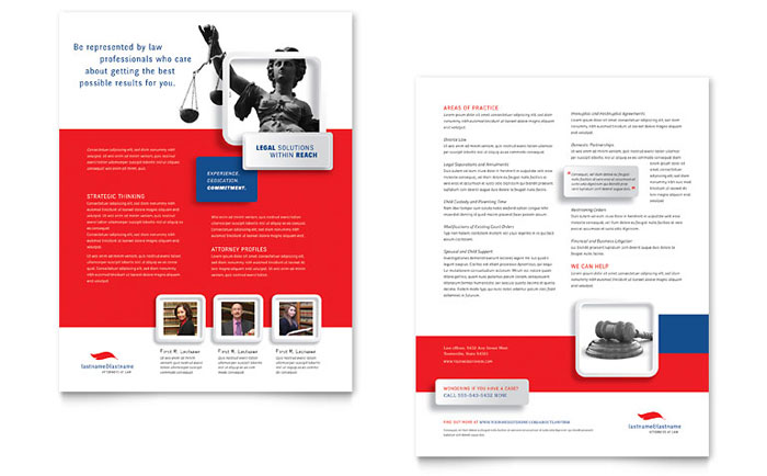 Datasheet Sample - Justice Legal Services