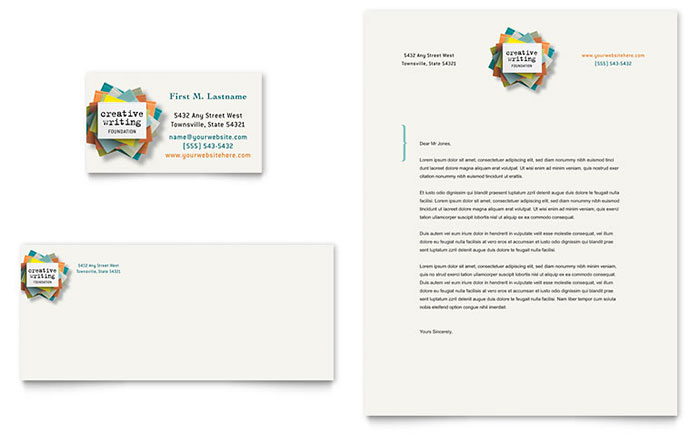 Writing Workshop Letterhead Design