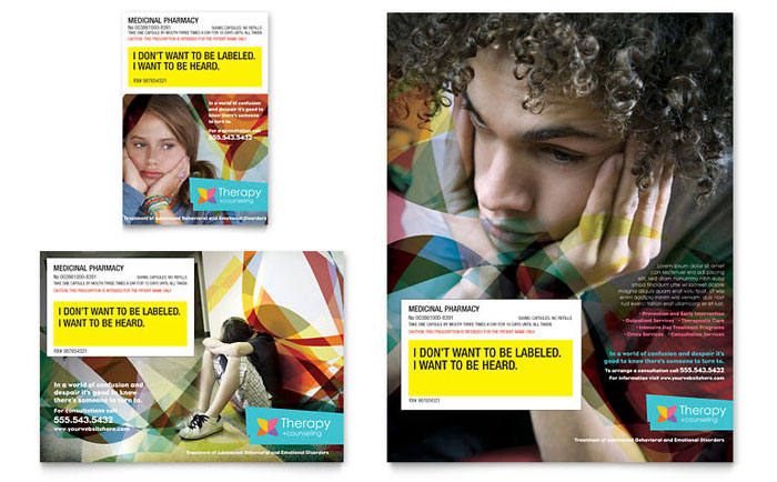 Adolescent Counseling Service Ad Idea