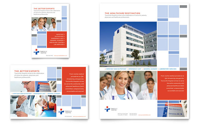 Hospital Flyer & Ad Design