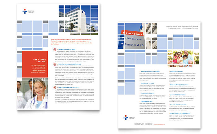Hospital Datasheet Design
