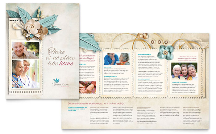 Hospice & Home Care Brochure Design