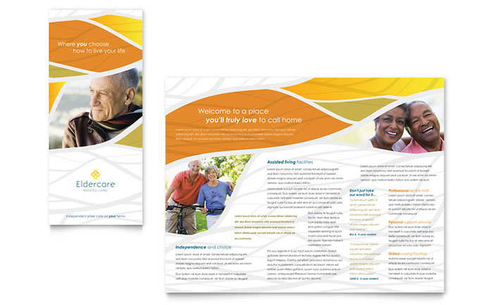Brochure Sample - Assisted Living