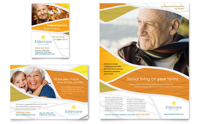 Advertisements & Flyer Sample - Assisted Living