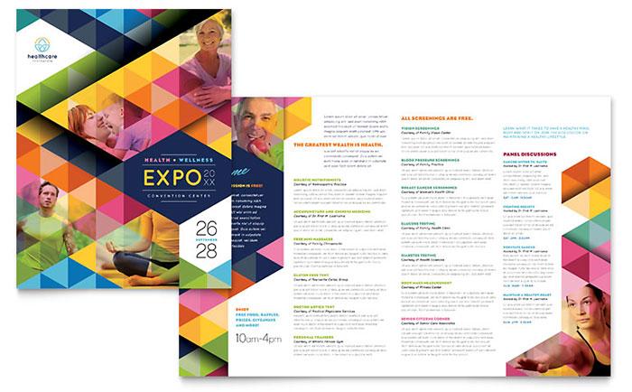 Health Fair Brochure Sample