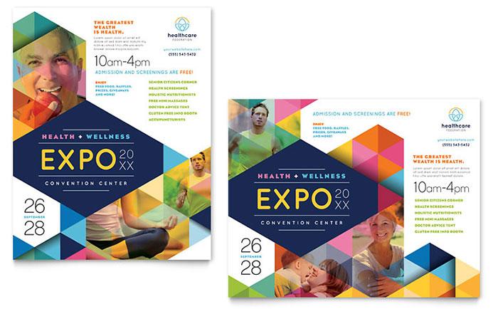 Health Fair Poster Sample