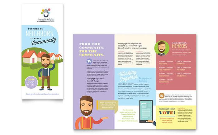 Homeowners Association - Sample Brochure Design