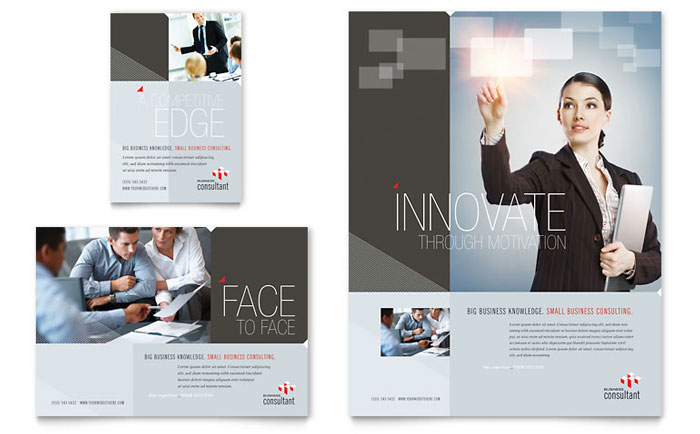 Corporate Business Flyer and Ad Design