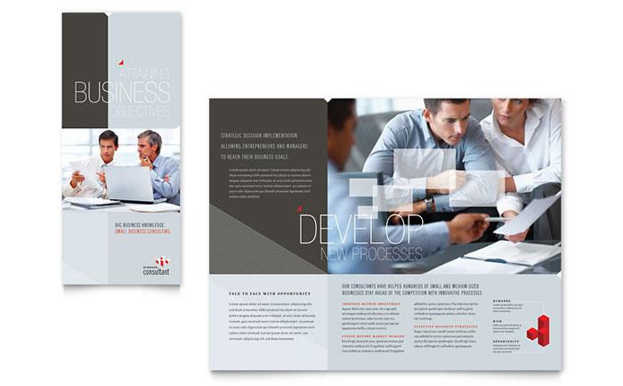 Corporate Business Tri Fold Brochure Design