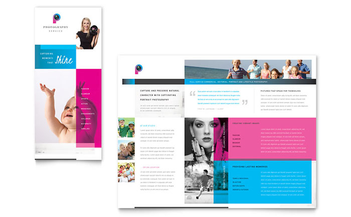 Photography Business Brochure Design