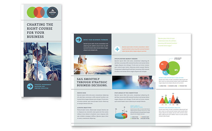 Tri Fold Brochure Sample - Business Analyst