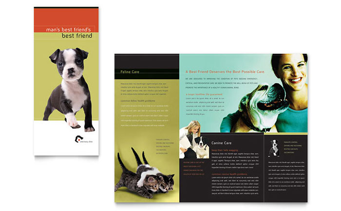 Brochure Example - Veterinary Clinic