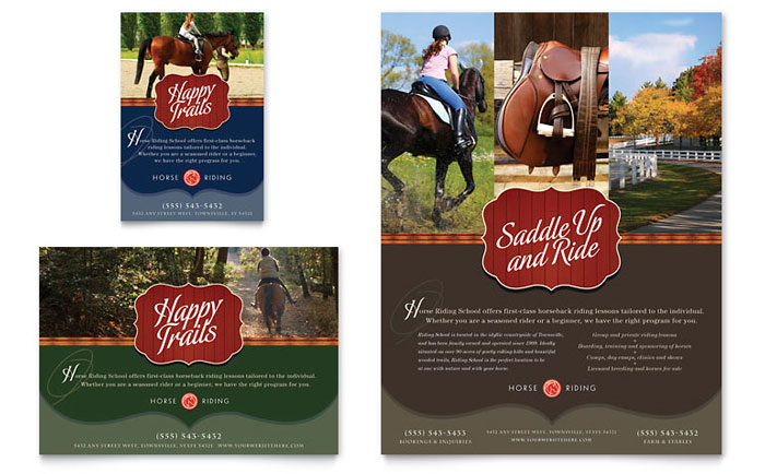 Equestrian Sports Posters