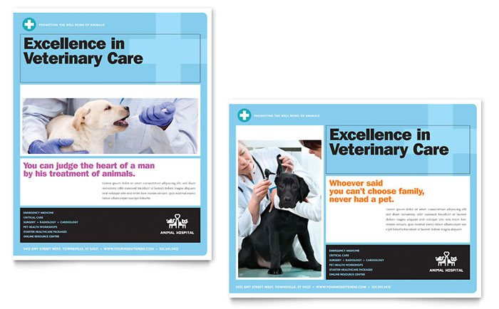 Poster Example - Animal Hospital
