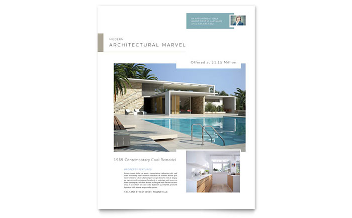 Modern Real Estate Flyer Example