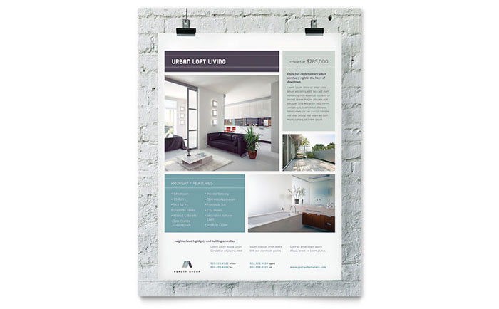 Flyer Example - Urban Loft