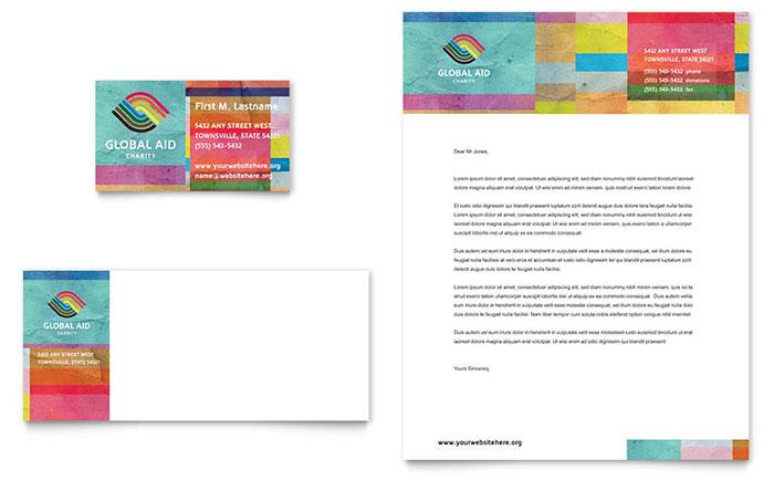 Nonprofit Humanitarian Aid Letterhead