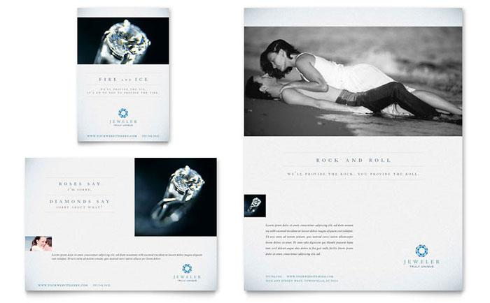 Jewelry Advertisement Idea