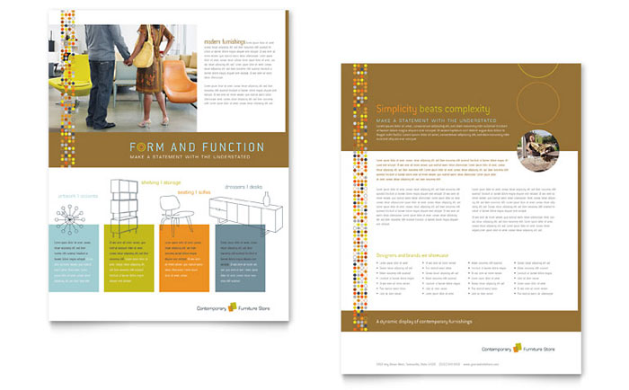 Datasheet Template Designs For Small Business Marketing