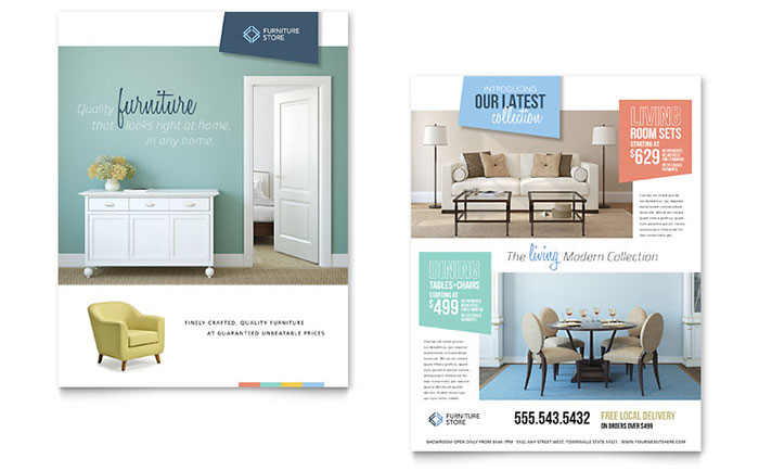Home Furniture Sales Sheet Sample
