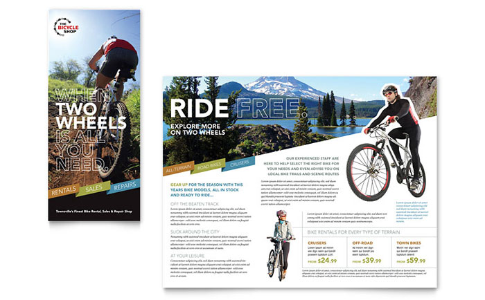 Brochure Sample - Bike Rentals