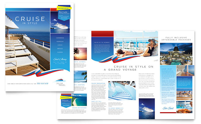 Brochure Example - Cruise Travel