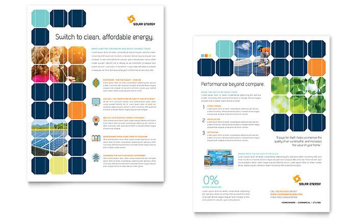 Solar Energy Datasheet Design Example