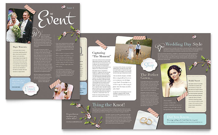 Wedding Planner - Newsletter Design