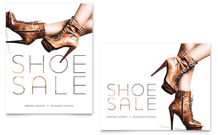 Poster Sample - Designer Shoes