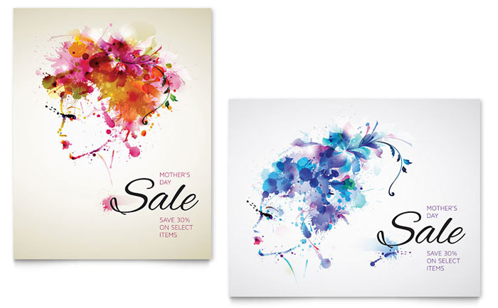 Sale Poster Example - Mother's Day