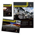 Trucking & Transport Flyer & Ad Design