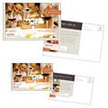 Bistro Restaurant Postcard Design