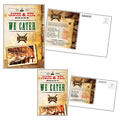 BBQ Restaurant Postcard Design