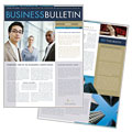 Small Business Consulting Newsletter Design