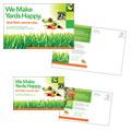 Lawn Maintenance Service Postcard Design