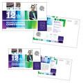 Business Leadership Conference Postcard Design