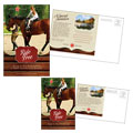 Horse Riding Stables Postcard Design