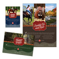 Horse Riding Stables Flyer & Ads Design