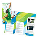 Tennis Club & Camp Brochure Design